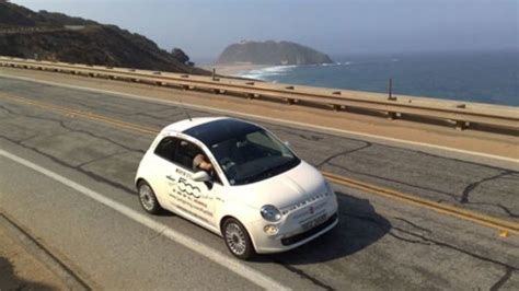 Who Makes Fiat 500 by Fiat 500 Makes Trek Across America Autoblog