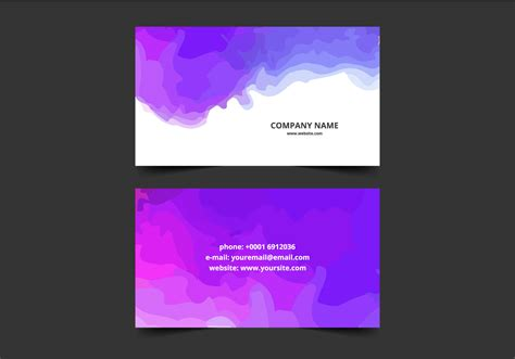 Water Splash Business Card Affinity Photo Business Card Template Reader Windows Real Estate Quotes Cards Using My Sample With Qr Code Minimal Restaurant Realtor Size For