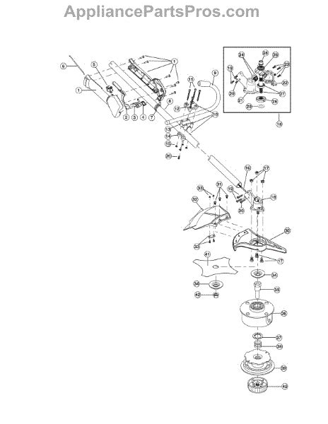 Parts For Mcculloch Adg Boom Trimmer