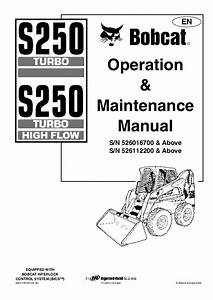 Bobcat S250 Parts Diagram