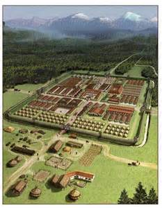 Ancient Roman Military Camp
