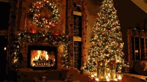 fireplace tree gif fireplace christmastree