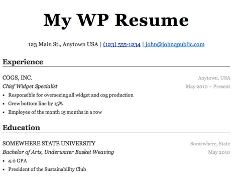 What To Add Education On A Resume by Top 10 Plugins For Freelancers