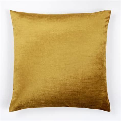 west elm throw pillows cotton luster velvet pillow cover velvet gold west elm