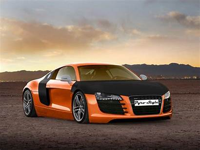 Audi Wallpapers Orange Nice