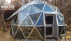 Geodesic Dome Tent - Dia.4m 6m 8m Glass Dome Lounge - Dome ...
