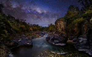 Nature, Landscape, The, Devils, Throat, River, Canyon, Trees