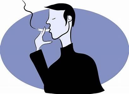 Smoking Clipart Person Merokok Transparent Tobacco Cartoon