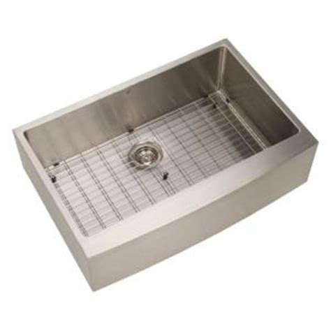 Kitchen Sink 33x22 Single Bowl by Vigo Undermount Apron Front Stainless Steel 33x22 25x10 In