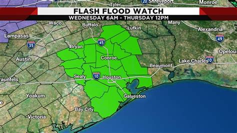 Flood watch national weather service houston/galveston tx 336 am cdt thu jul 8 2021. Flash flood watch issued for several counties Houston area...