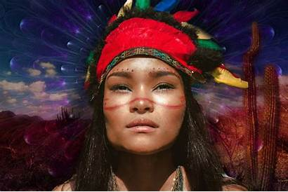 Indigenous Tribes America Central Special Substances South