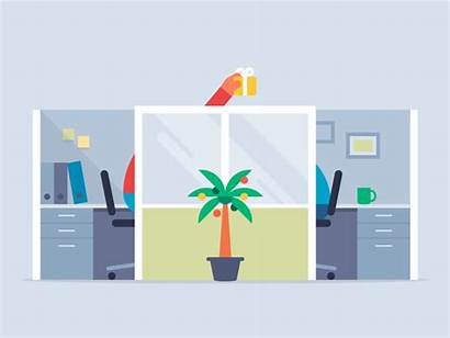 Office Collaboration Project Holiday Animations Traditions Internal