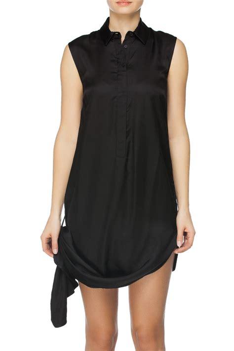 mm maison martin margiela convertible maxi dress black
