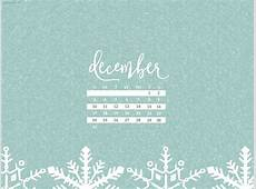 December 2017 Calendar Wallpaper For Desktop & Mobile