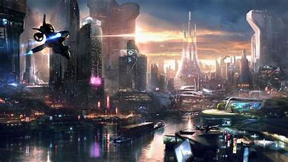 Futuristic Concept Gaming 4k Remember Cities Fiction