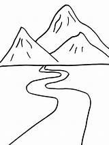 River Coloring Ausmalbilder Fluss Ausdrucken Malvorlagen Kostenlos Zum sketch template