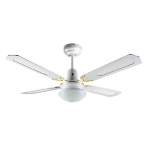 Rattan Ceiling Fans With Lights by 120cm 4 Blade Rattan Ceiling Sweep Fan With Oyster Light