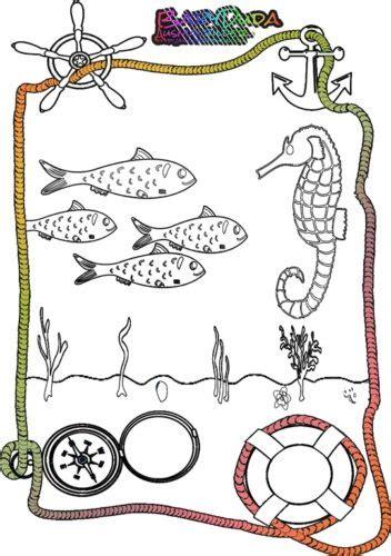 malvorlagen meerestiere ausmalbild tiere im wasser
