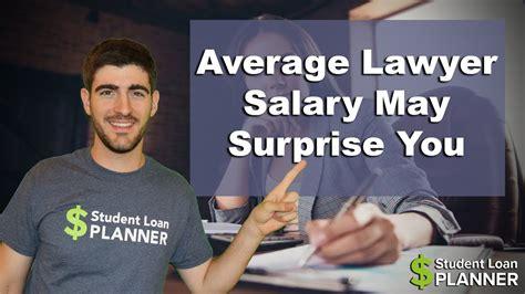 average lawyer salary  surprise  student