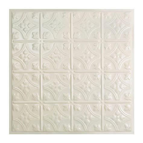 white tin ceiling tiles home depot great lakes tin hamilton 2 ft x 2 ft lay in tin ceiling