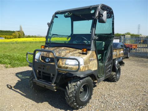 sold kubota rtv utility truck   sale fnr