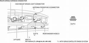 Mazda Cx-5 Service  U0026 Repair Manual - Liftgate Removal  Installation  Lids  U0026 Hood  Trunk