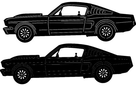 Classic Car 16 Dxf File Free Download