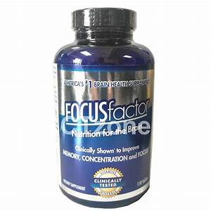 Focus Factor Brain Memory Concentration Supplement Multi Vitamin 150 Tablets 726000104073