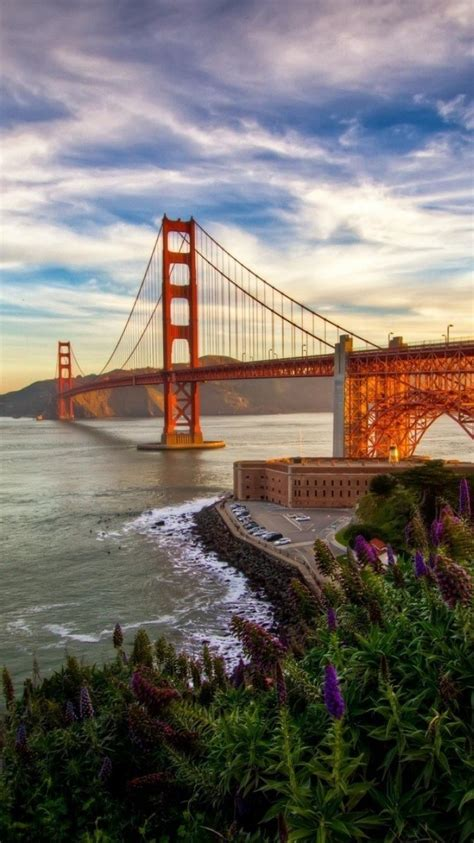 sunset usa golden gate bridge california san francisco
