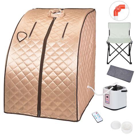 2l portable steam sauna spa slim weight loss