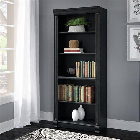 Antique Black Bookcase by Birmingham Antique Black Bookcase