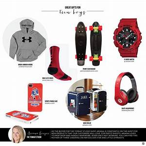 Great Gifts for Teen Boys :: TomKat Holiday Gift Guide