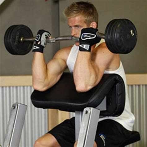 Build Bigger Biceps With This Preacher Curl Workout