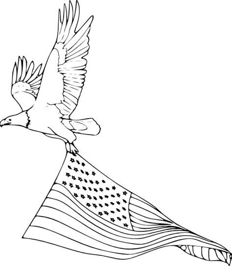 coloring book bald eagle clip art  clkercom vector