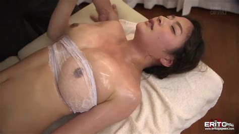 Huge Tits Japanese Hottie Meguri Sensual Massage Turned