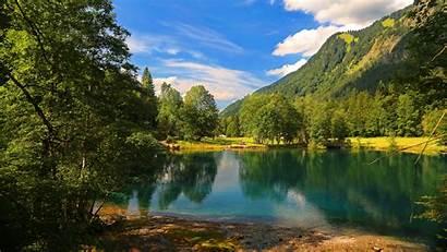 8k Nature Lake Mountain Wallpapers Water Blonde