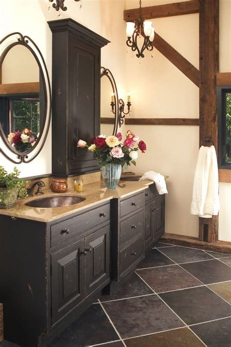 rustic eclecticism master bath redesign  hope pa