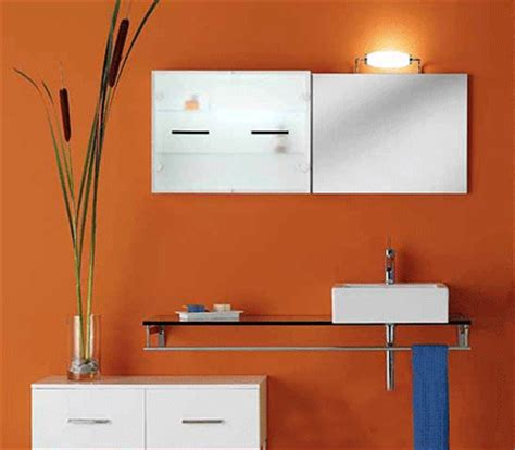 orange paint color for bathroom bathroom decorating ideas cheerful orange paint and