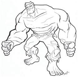 free coloring pages incredible hulk download