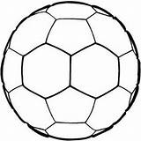 Ball Soccer Coloring Printable Pages Football Stencils Sports Sheets Clipart Sheet Wild Senses Star Bunch Clip Kathy Paper Keyword Tag sketch template