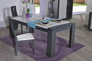 Table De Salle A Manger Moderne Avec Rallonge Cuisine