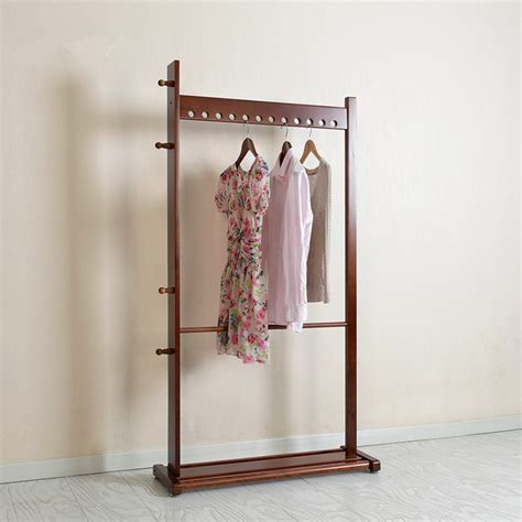 Wood Clothes Racks for Hanging Clothes Promotion Shop for Promotional Wood Clothes Racks for
