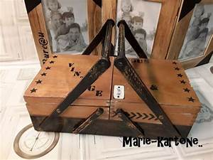 Petite Boite En Bois : 327 best travailleuses images on pinterest sewing box ~ Dailycaller-alerts.com Idées de Décoration