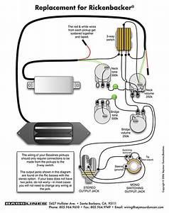 Rickenbacker 4001 Wiring Diagram  U2013 Volovets Info