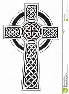 Symboles De Protection Celtique : tatouage de symbole de croix celtique de dessin mod le illustration de vecteur illustration du ~ Dode.kayakingforconservation.com Idées de Décoration