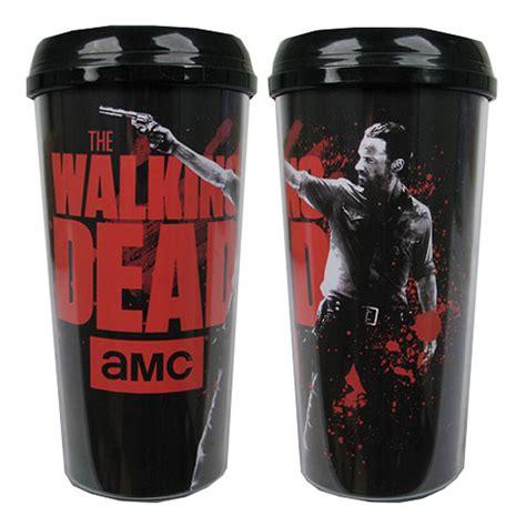 The Walking Dead Rick Grimes Travel Mug   Just Funky   Walking Dead   Travel Mugs at