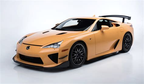 One Of 50 Lexus Lfa Nürburgring Editions Heads To Auction
