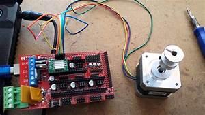Arduino Mega   Shied Ramps 1 4   Driver A4988   Motor Nema