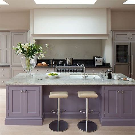 painted islands for kitchens contrasting colour on island farrow and