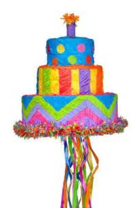 Pinata Birthday Party Cake